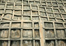 Free Distorted Concrete Wall Royalty Free Stock Image - 5368796