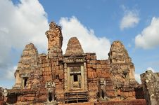 Free Cambodia Angkor East Mebon Temple Stock Image - 5368851