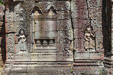 Free Cambodia Angkor Ta Som Temple Royalty Free Stock Image - 5369246