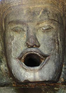 Free Cambodia Angkor Prasat Neak Pean Royalty Free Stock Photos - 5369388