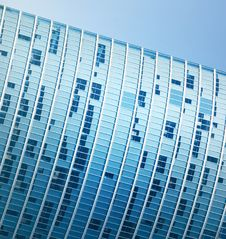 Free Modern Office Building Fragment Royalty Free Stock Photography - 5369787