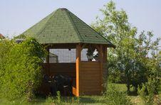 Free Garden Hut Royalty Free Stock Photography - 5369827