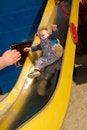 Free Baby Sliding Down Royalty Free Stock Photos - 5370148
