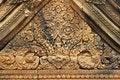 Free Cambodia Angkor Banteay-Srei Carving Stone Stock Image - 5372181