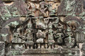 Free Cambodia Angkor Banteay Samre Carved Pediment Royalty Free Stock Photo - 5377435