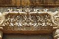 Free Cambodia Angkor Preah Ko Temple Carved Lintel Stock Photography - 5377652
