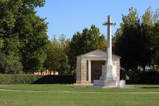 War Cemetery, Assisi Stock Photos
