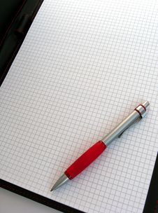 Free Pen On Notepad Stock Images - 5370164