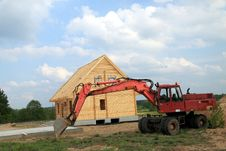 Free Building A New House Stock Photography - 5370422