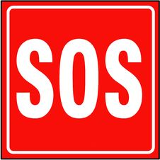 Free Sos Sign Royalty Free Stock Images - 5370679