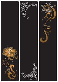 Free Decorative Banners Stock Image - 5370821