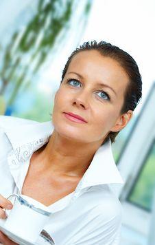 Free Hi Key Face Royalty Free Stock Images - 5370939