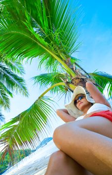 Free Tropic Relaxation Royalty Free Stock Photo - 5371175