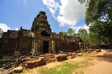Free Cambodia Angkor Ta Som Temple Royalty Free Stock Image - 5371646