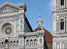 Free Cathedral In Florence Stock Image - 5371721