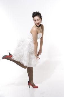 Free Chinese Bride Royalty Free Stock Image - 5371746