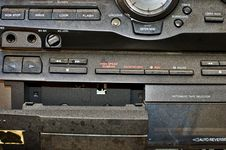 Free Worn Out Hi-fi Detail Royalty Free Stock Photography - 5372507