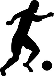 Free Soccer Player Royalty Free Stock Photos - 5372538