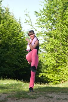 Free Gymnastics Stock Image - 5372631