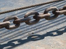 Free Strong Chain Royalty Free Stock Image - 5372656