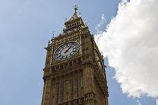 The Big Ben Tower Stock Photo