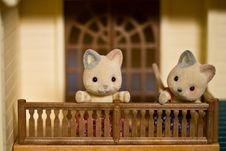 Free Toy Kitties Stock Image - 5372841