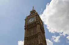 The Big Ben Tower Royalty Free Stock Image