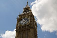 The Big Ben Tower Stock Photo