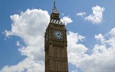 The Big Ben Tower Royalty Free Stock Photo