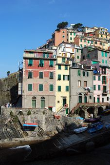 Free Riomaggiore-Cinque Terre Royalty Free Stock Photo - 5373475
