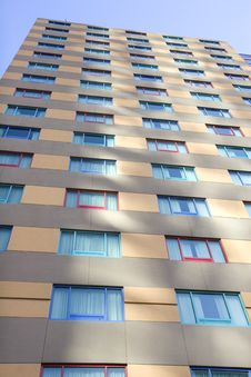 Free Colored Windows From Ground Stock Images - 5373794