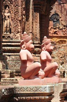 Free Cambodia Angkor Banteay Srey Stock Photo - 5374290