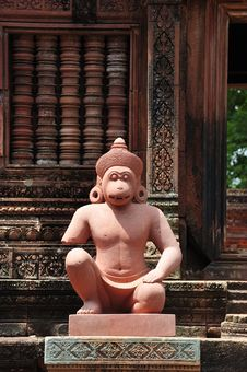 Free Cambodia Angkor Banteay Srey Stock Photography - 5374382