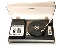 Free Old Record-player Royalty Free Stock Image - 5374506