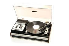 Free Retro Record Player Royalty Free Stock Photography - 5374517