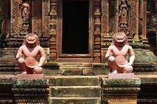 Free Cambodia Angkor Banteay Srey Stock Photos - 5374603
