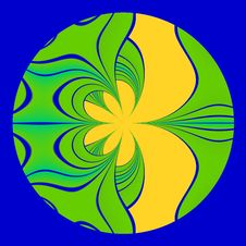 Free Green And Yellow Abstract Pattern Stock Photo - 5374680