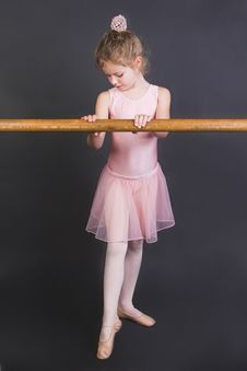 Free Tiny Ballerina Stock Photography - 5374892