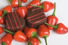 Free Chilli Chocolates Stock Images - 5375024