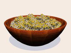 Free Popcorn Bowl Stock Image - 5375201