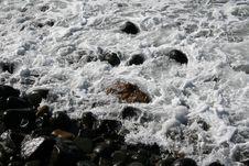 Wet Pebbles Stock Image