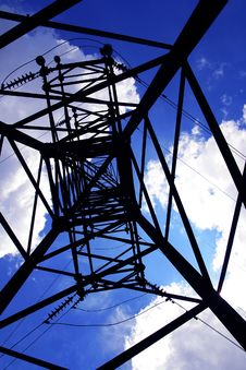 Free Hight Voltage Lines Stock Photo - 5376090