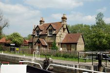 Free Lock Keepers Cottage Stock Images - 5376214