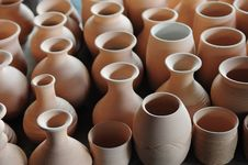 Free Pottery Crocks Stock Image - 5376691