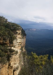 Free Blue Mountains, Australia Royalty Free Stock Image - 5377046