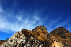 Free Partial View Of A Rock Formation. Royalty Free Stock Photos - 5377178