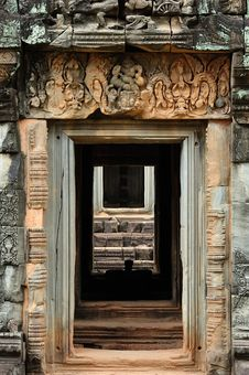 Free Cambodia Angkor Banteay Samre An Indoor View Royalty Free Stock Images - 5377459