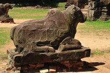 Cambodia Angkor Preah Ko Temple Royalty Free Stock Photo
