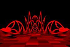 Free Red Gates. Royalty Free Stock Image - 5377746