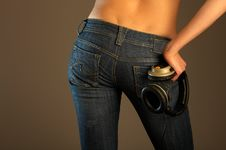 Jeans Imaginations (Entertainments) Royalty Free Stock Photography